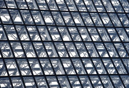 glazing: Abstract architecture in a modern building