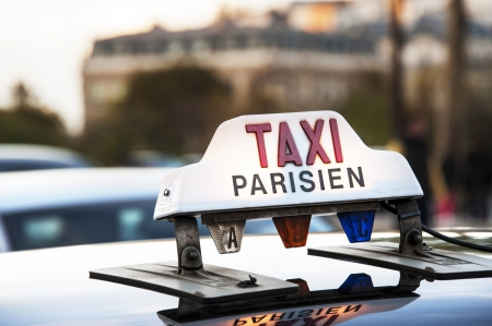traditionally french: Paris - Taxi