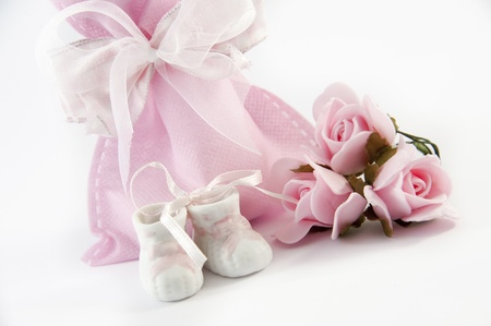 favors for  communions and baptisms for a girl Stock Photo - 17126851