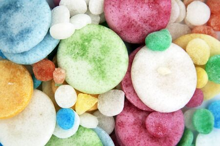 Many colorful sugar candy - texture theme Stock Photo - 17514006