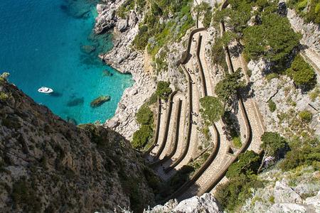 The beautiful Capri island, via Krupp photo