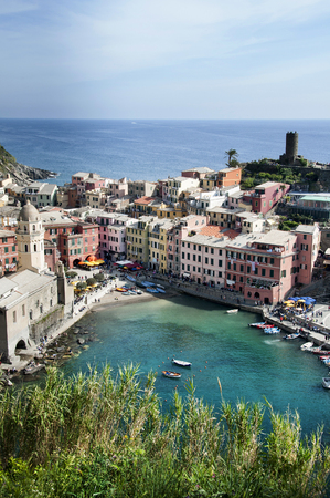 vernazza: Vernazza village - Cinque Terre in Italy