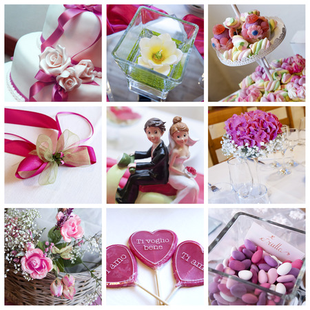 lollypop: Collage from wedding photos