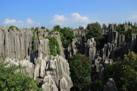 yunnan: Yunnan Stone Forest Stock Photo