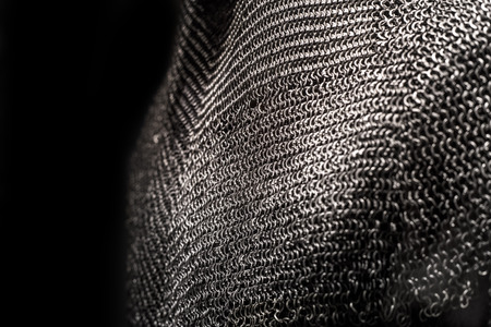 Medieval chainmail armour – a historic piece of equipment