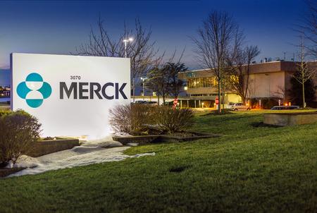 February 20, 2017, Branchburg, New Jersey, USA:Merck MSD Building in Branchburg, New Jersey. Building with offices