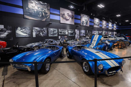 Las Vegas, Nevada, USA - October 15, 2019: Carol Shelby Museum displaying its customized cars