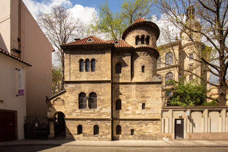 The Ceremonial Hall nearby the Old-New Synagogue is the oldest active synagogue in Europe, completed in 1270 and is home of the legendary Golem of Prague