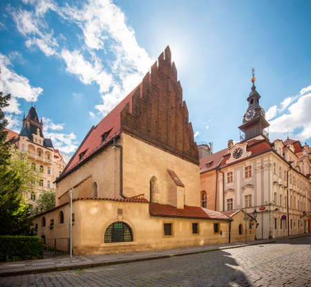 The Old-New Synagogue is the oldest active synagogue in Europe, completed in 1270 and is home of the legendary Golem of Prague Editorial