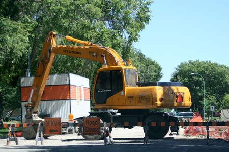 Tractor Digger Stockfoto - 299301