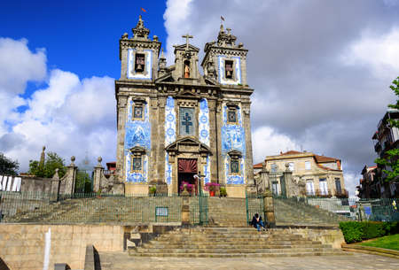 portugal: Saint Ildefonso church, Porto, Portugal