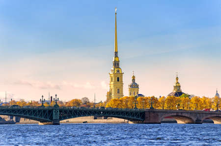 saint petersburg: Peter and Paul Fortress, St Petersburg, Russia