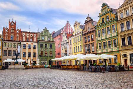 rynek: Stary Rynek, Old Marketplace Square in Poznan, Poland