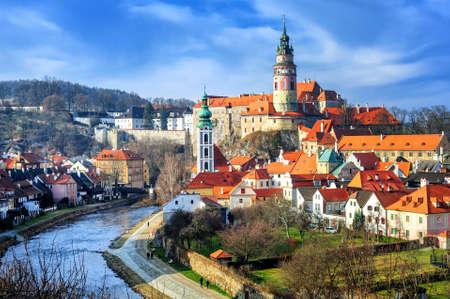 Cesky Krumlov, Tschechien Standard-Bild - 47851829
