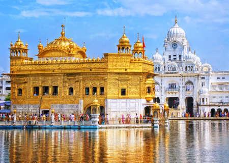 황금 사원, 시크교의 주요 성소, 암리 차르, 인도 스톡 콘텐츠 - 47852537