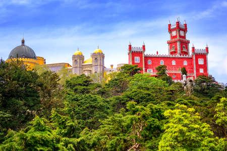 pena: Pena palace, Sintra, Portugal Stock Photo