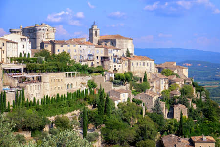 gordes: Gordes, a picturesque medieval hilltop town in southern France, Provence