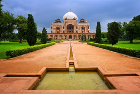 mogul: Great Mogul emperor Humayuns mausoleum tomb in New Delhi, India