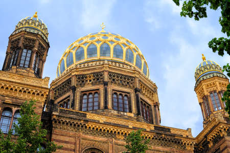 synagoge: The Neue Synagoge was the main synagogue of Berlin, Germany, and was severe damaged by the Nazi during World War II