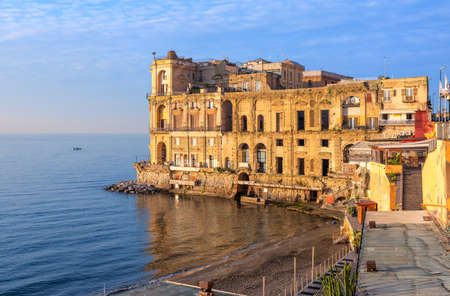 Palazzo Donn'Anna is a historical residence palace in Naples, Italy Sajtókép
