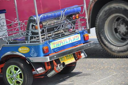 three wheeler: Thailand