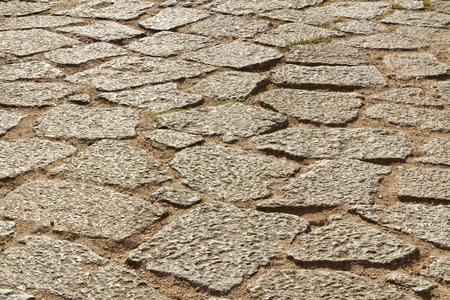 granite floor: Ancient granite floor texture