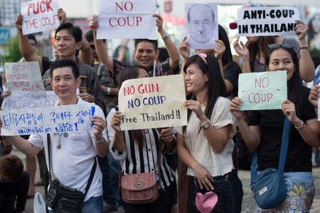 just ahead: Anti coup in Thailand