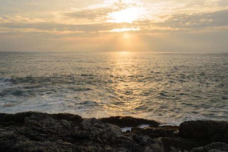 Sunset on the Andaman Sea, Cape Promthep, Phuket, Thailand photo