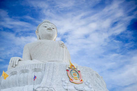 phuket province: Big buddha at Naga hills, Phuket, Thailand
