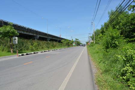 Country Highway in Bangkok, Thailand