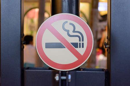 Niet roken teken