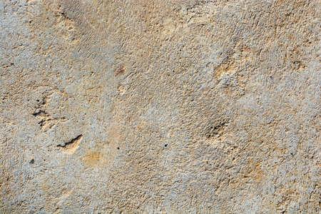 full of holes: Concrete floor, background