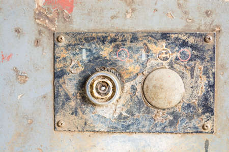 Old rusted metal background, texture Stock Photo