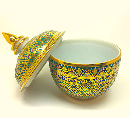antique asian: Antique crockery