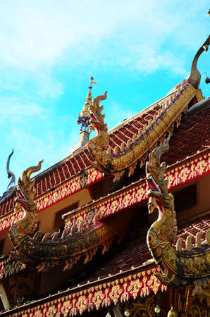 thaiart: The animals are beautiful temples in Thailand .