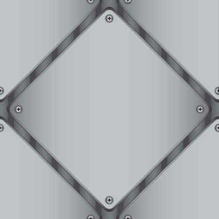 sheet metal: Gray diamond-shaped metal sheet for background