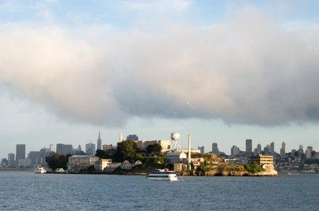 Alcatraz and San Francisco