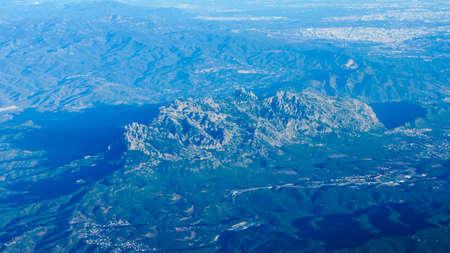 montserrat: View of Montserrat moutain top