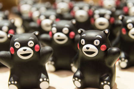 japanes: Japanes Mascot Kumamon Editorial