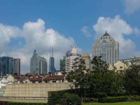 gebouwen in Shanghai China Stockfoto