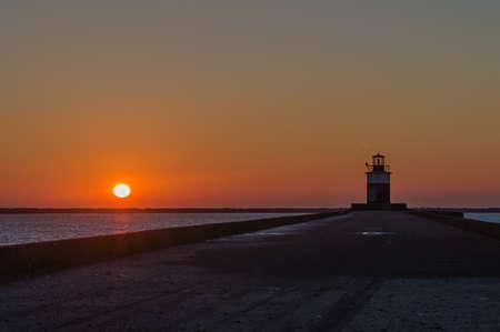 ijmuiden: Stunning Photo of a Lighthouse in Ijmuiden, The Netherlands