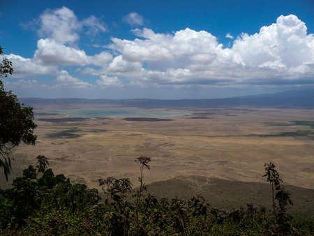 big five: Ngorongoro Crater pi� grande caldera intatta Il mondo s, che ospita il Big Five