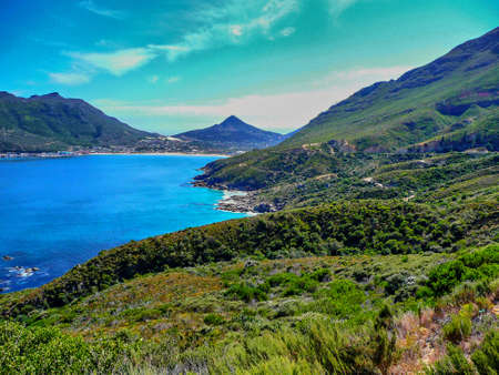 chapman: hout bay view from chapman s peak, south africa