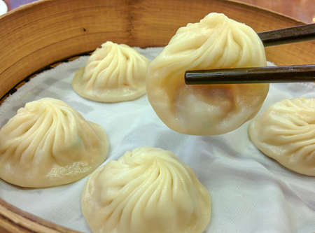 Xiaolongbao,Traditional Chinese food. photo