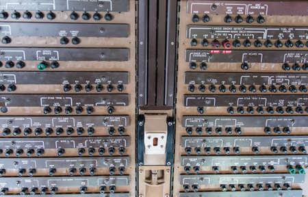 tablero de control: Panel de control del Boeing 747