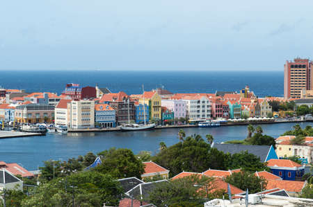 curacao: View at Willemstad, Curacao