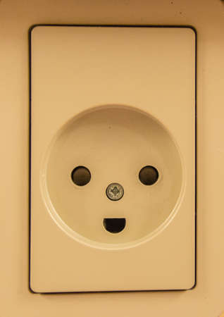 Electrical Outlet and Wall Plate photo