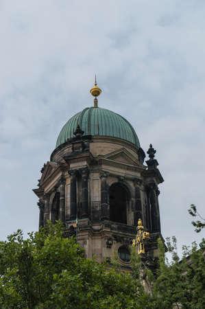 evangelical: Detail of Evangelical Supreme Parish and Collegiate Church Berlin
