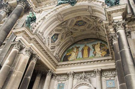 parish: Detail of Evangelical Supreme Parish and Collegiate Church Berlin