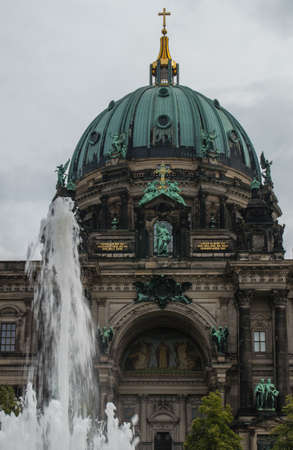The Berliner Dom (Berlin Cathedral) completed in 1905, is Berlins largest and most important Protestant church. photo